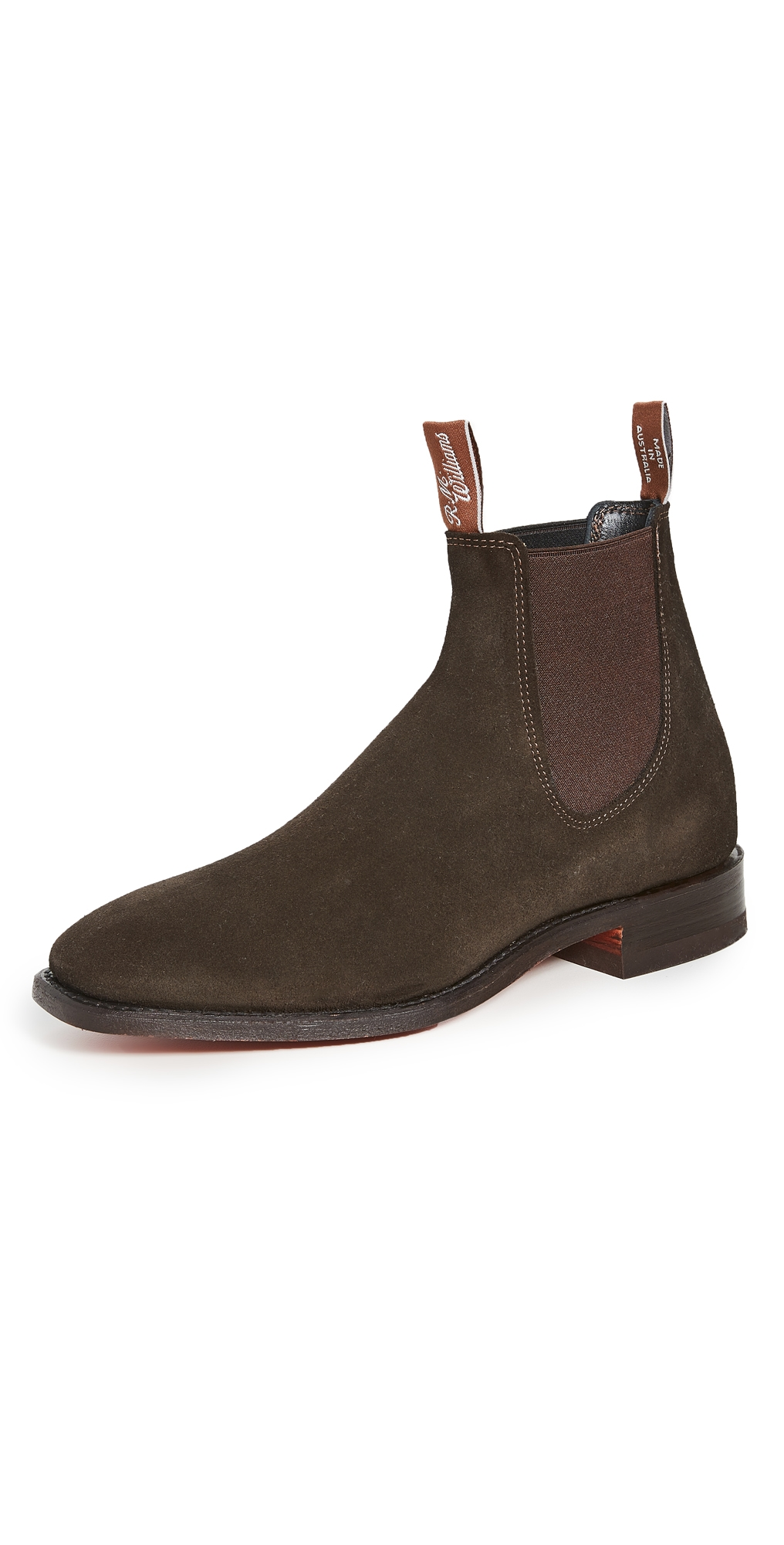 R.M. Williams Suede RM Boots