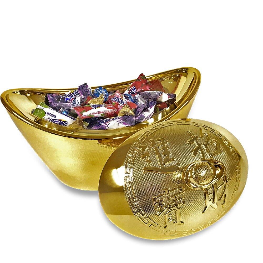 聚寶盆/金元寶/糖果盒+存錢筒  / 過年過節 店面擺飾