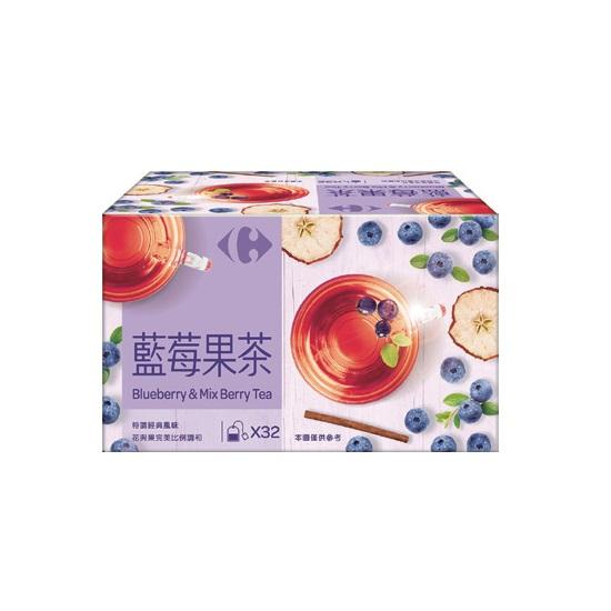 家樂福藍莓果茶3gx32