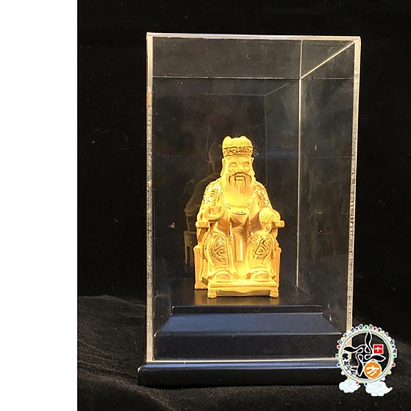 福德正神{金}聖像(高14 公分)【十方佛教文物】