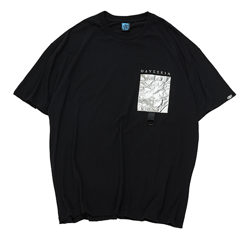 異次元口袋寬版T STAGE DIMENSION POCKET OVERSIZED TEE 白色/黑色