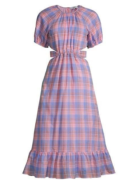 Payson Plaid A-Line Dress