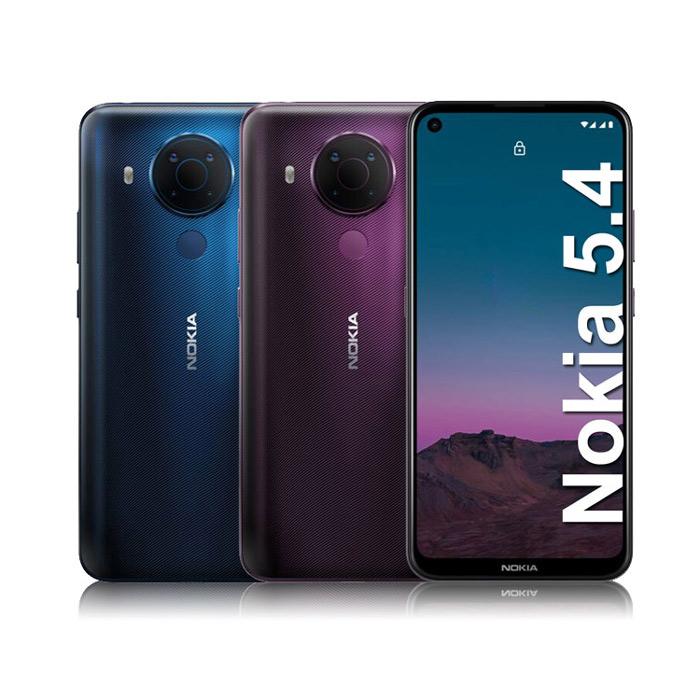 NOKIA 5.4 (6G/64G) 6.39吋四鏡頭智慧手機夢境紫