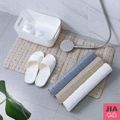 JIAGO 吸盤式浴室防滑地墊