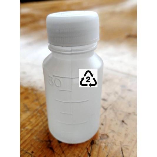 2004168 藥水瓶空瓶 30ml 材質 hdpe 2號收納旅行分裝) 分裝瓶 顏料瓶 含內蓋 -