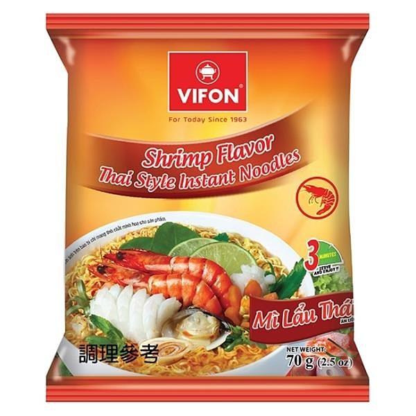 【南紡購物中心】【VIFON味豐】越南味豐 經典泡麵組 8包/組