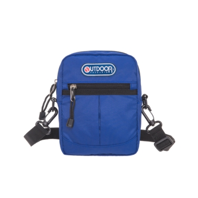 【OUTDOOR】輕遊系-側背包-藍色 OD111116BL