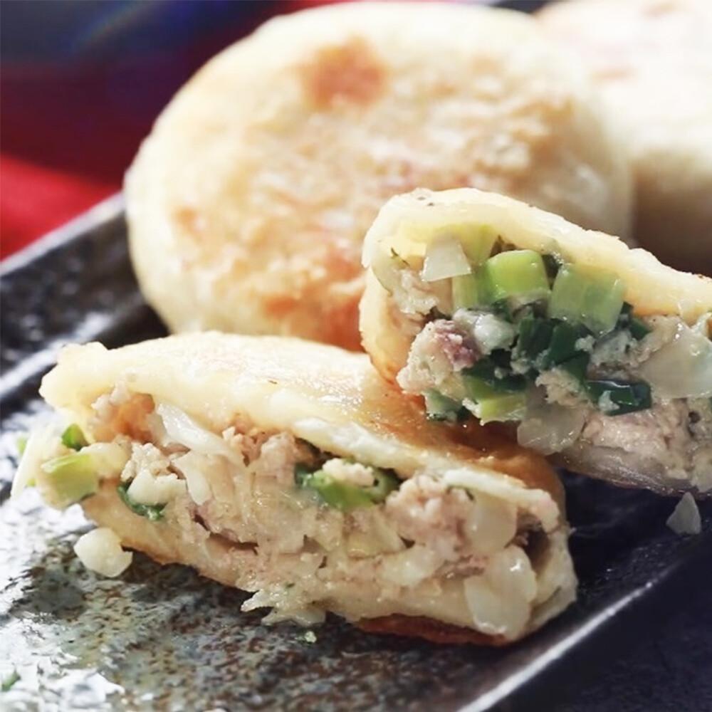 宜蘭三星蔥高麗菜餡餅藜麥水餃超值組(1入=餡餅4包36顆+水餃3包60顆)