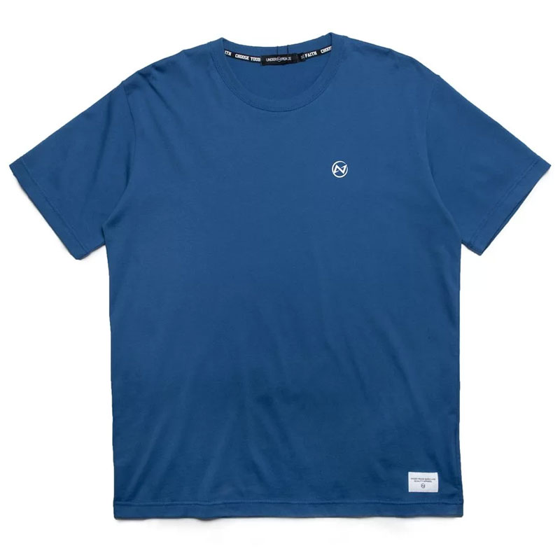 UNDER PEACE - 20SS BASIC / CREW NECK TEE 極簡系列 短T (藍色)