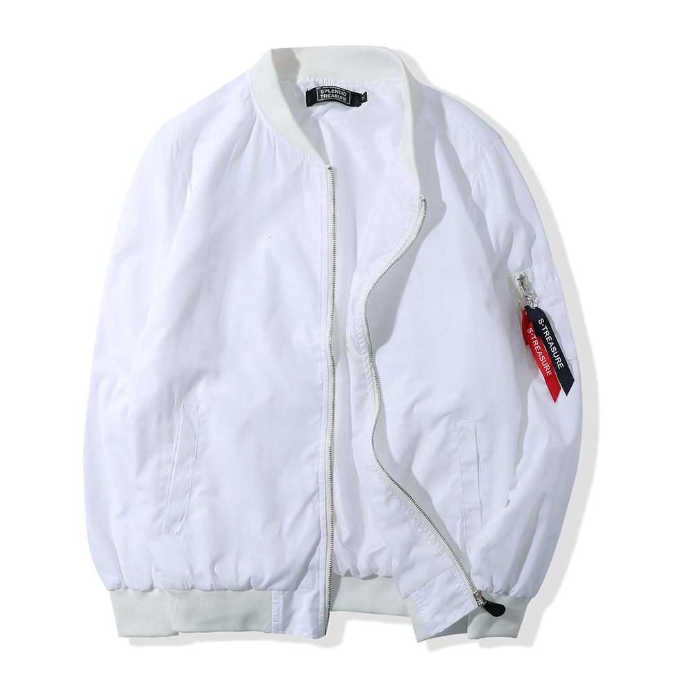 經典雙色飄帶MA-1飛行外套 / 男女可穿 / M-2XL【QM88918】