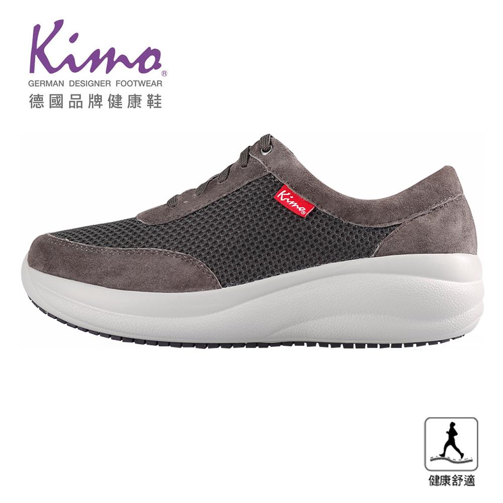 Kimo專利足弓支撐-網布舒適健康鞋 女鞋(灰KBJSF141052)