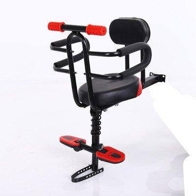 自行車兒童座椅電動車小孩前置安全坐椅折疊單車寶寶全圍減震座椅  聖誕節禮物