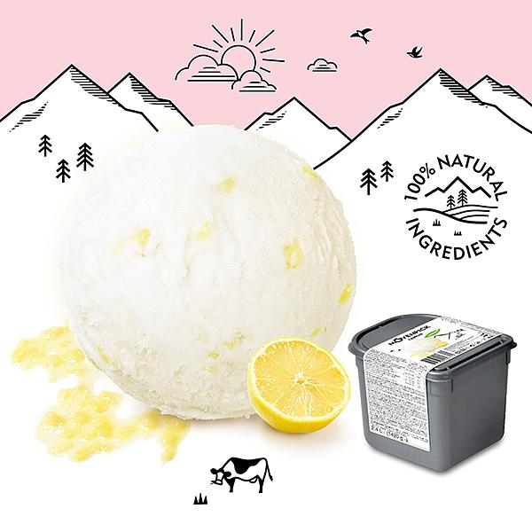 【瑞士原裝進口】Movenpick 莫凡彼冰淇淋 檸檬雪酪2.4L家庭號