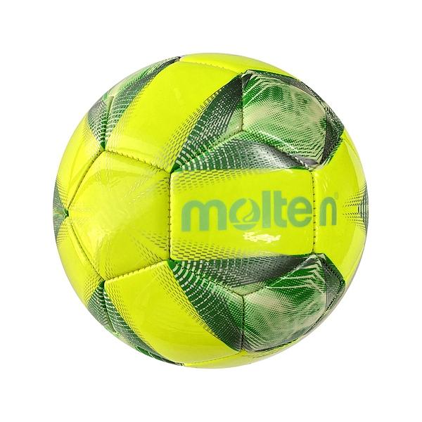 Molten Futsal Ball #4 [F9A2000-L] 低彈 足球 4號 亮面 機縫 合成皮 五人制 黃綠
