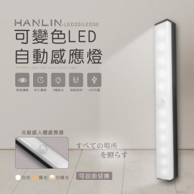 HANLIN-可變色LED自動感應燈