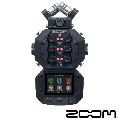 ZOOM H8 手持錄音機 (台灣總代理公司貨)