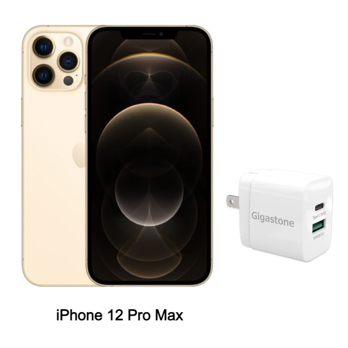 Apple iPhone 12 Pro Max 128G (金) (5G)【快充組】