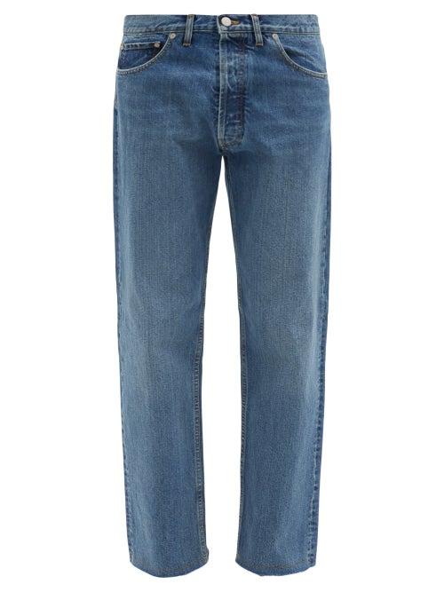 Maison Margiela - Straight-leg Denim Jeans - Mens - Blue