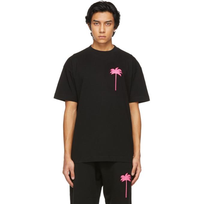 Palm Angels 黑色 Palm Tree T 恤