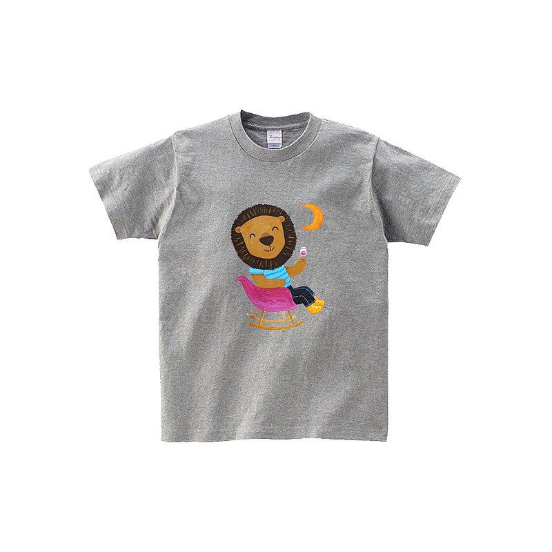 kami插畫中性短袖T-shirt∣ 紫色夢境