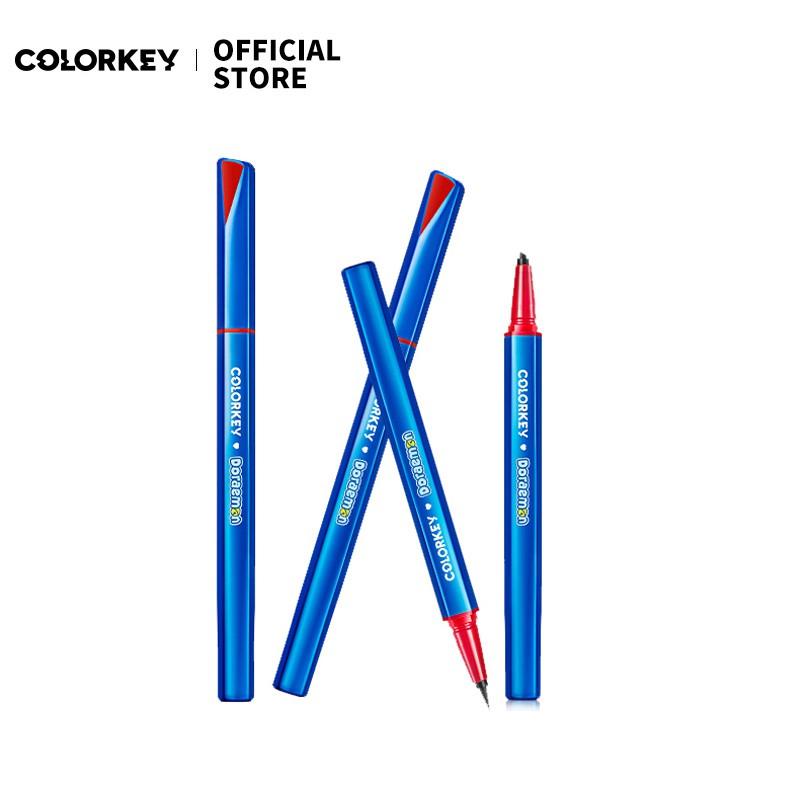 Colorkey 珂拉琪 哆啦A夢小銀管眼線筆不易暈染彩色 官方正品