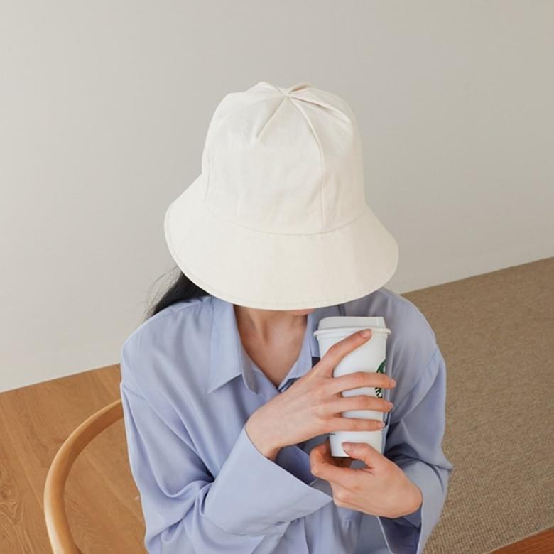 韓國空運 - Uno cotton-coloured bucket hat 帽子