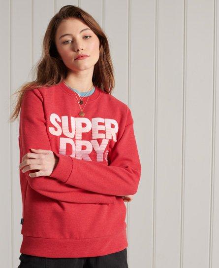 Superdry Embroidery Fade Standard Crew Sweatshirt