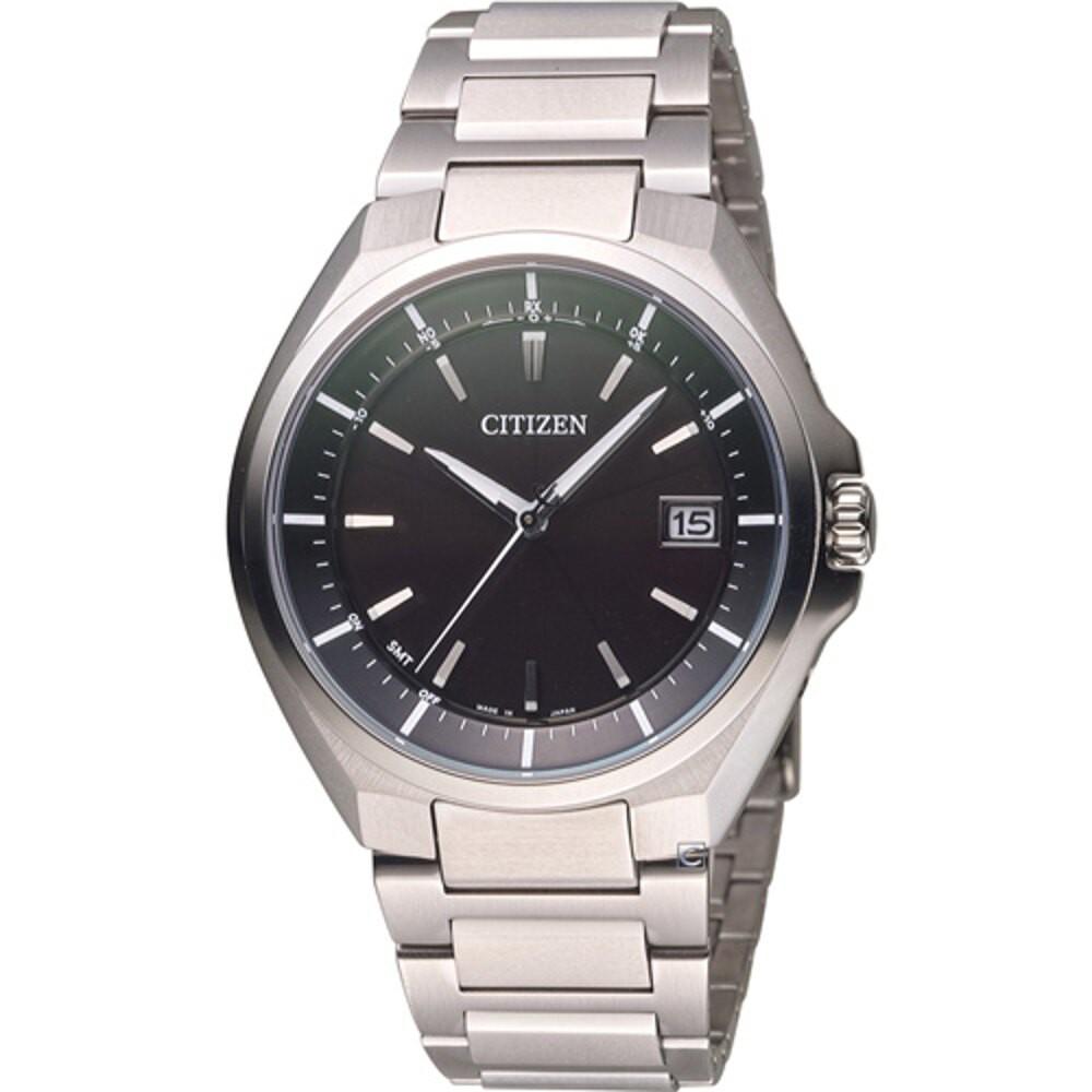 CITIZEN 星辰錶 Eco-Drive 超級鈦全球電波錶 CB3010-57E 黑
