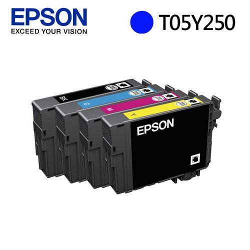 EPSON 愛普生 C13T05Y250 藍色墨水匣 T05Y250 新一代魔珠墨水 WF-3821 分離式墨水匣
