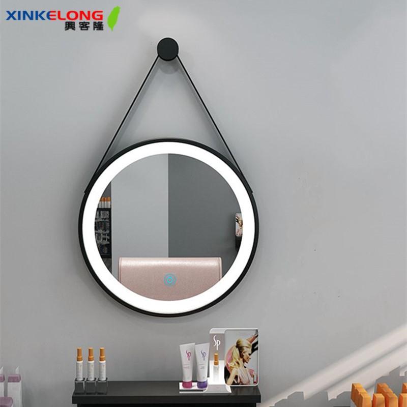 興客隆 浴室鏡子 浴鏡 美妝鏡 化妝鏡 led 化妝鏡 壁掛 浴室鏡 衛浴鏡 圓鏡