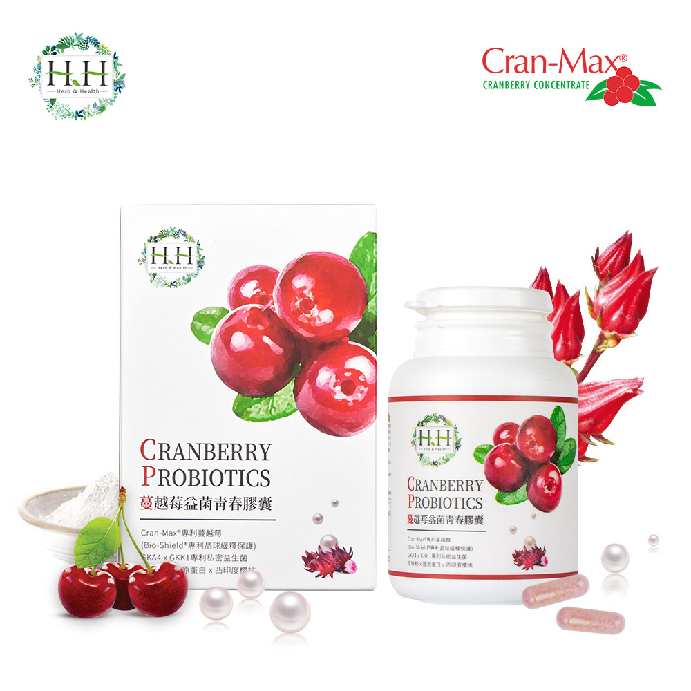 HH蔓越莓益菌青春膠囊(60粒)
