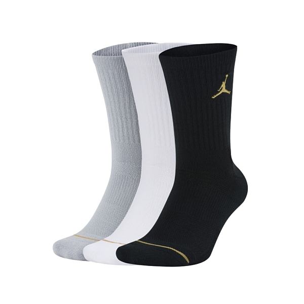 NIKE 男長襪(三入裝)(訓練 襪子 中筒 Dri-FIT 免運 ≡排汗專家≡