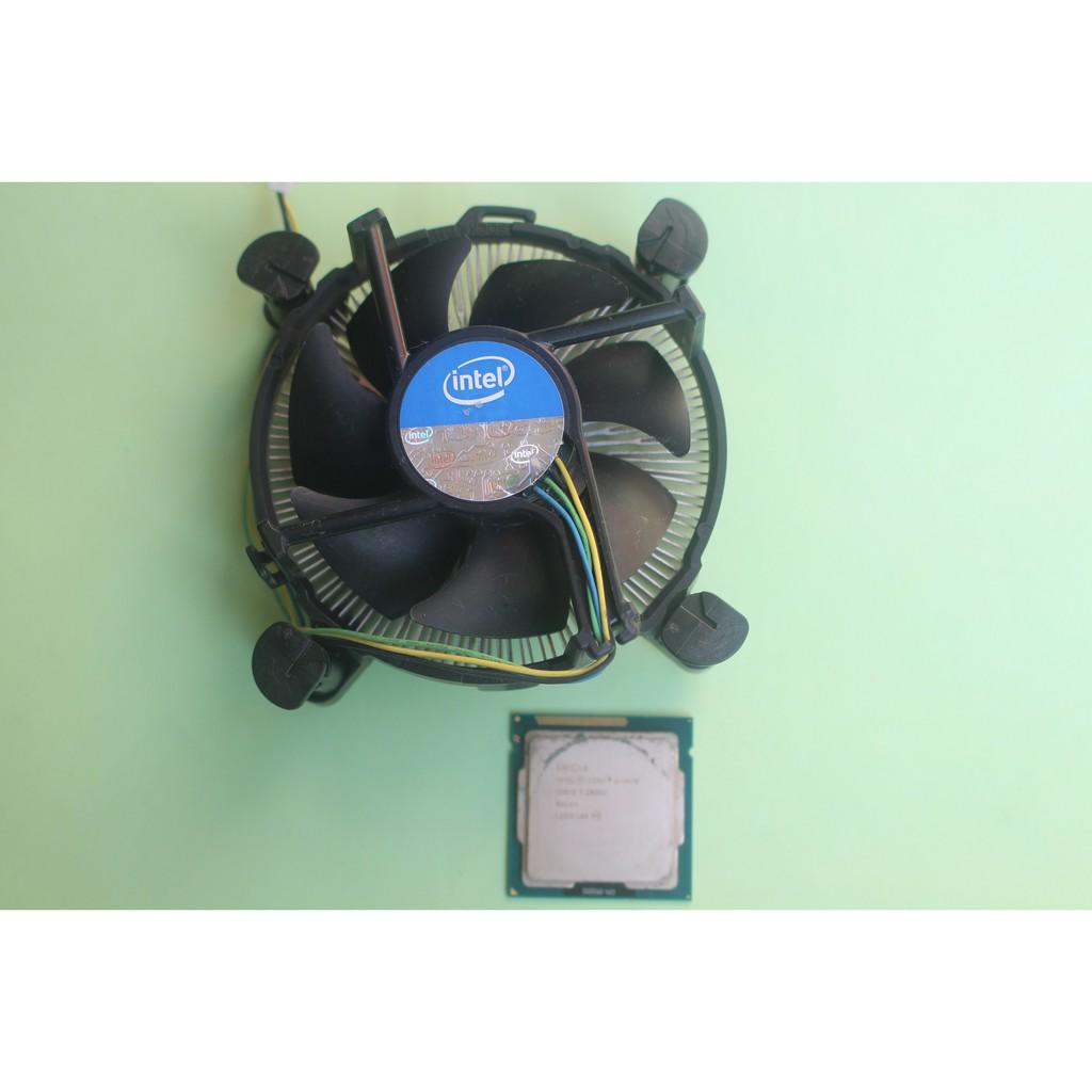 intel i5-3470(1155腳位)3.2~3.6 GHz加贈二手原廠散熱銅底扇&小針管散熱膏~二手價$900