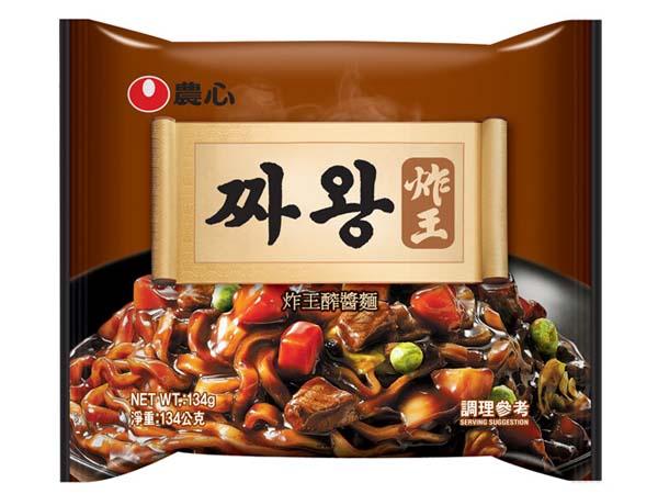 韓國 農心~炸王炸醬麵134g(單包)【D033324】醡醬麵 團購/泡麵