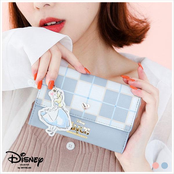 天藍小舖-迪士尼系列繽紛午茶愛麗絲與瑪麗貓款中夾-共2色-$590【A08081209】