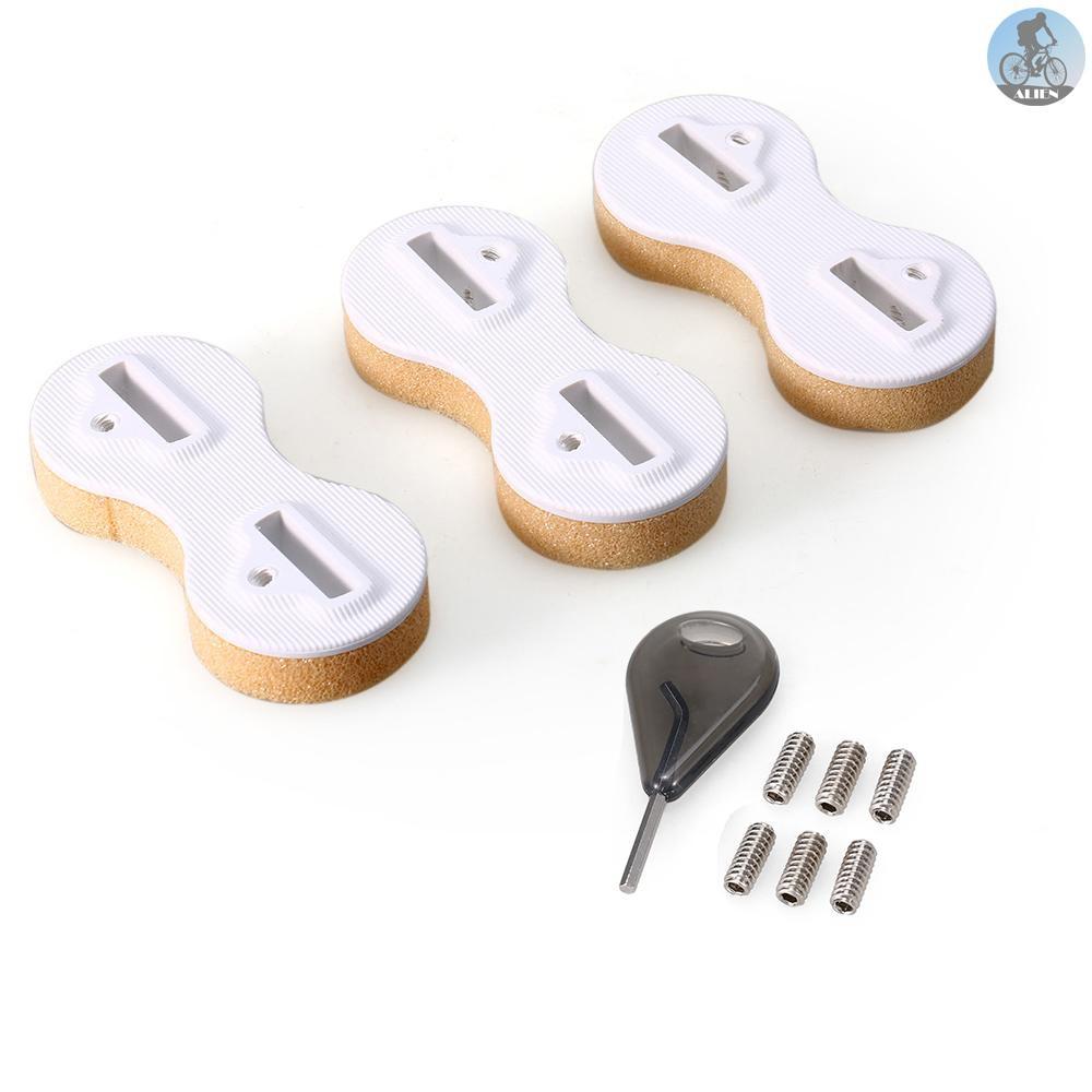 3 件式鰭片盒插頭額外的 Fin 鍵 9mm 鰭片螺絲組