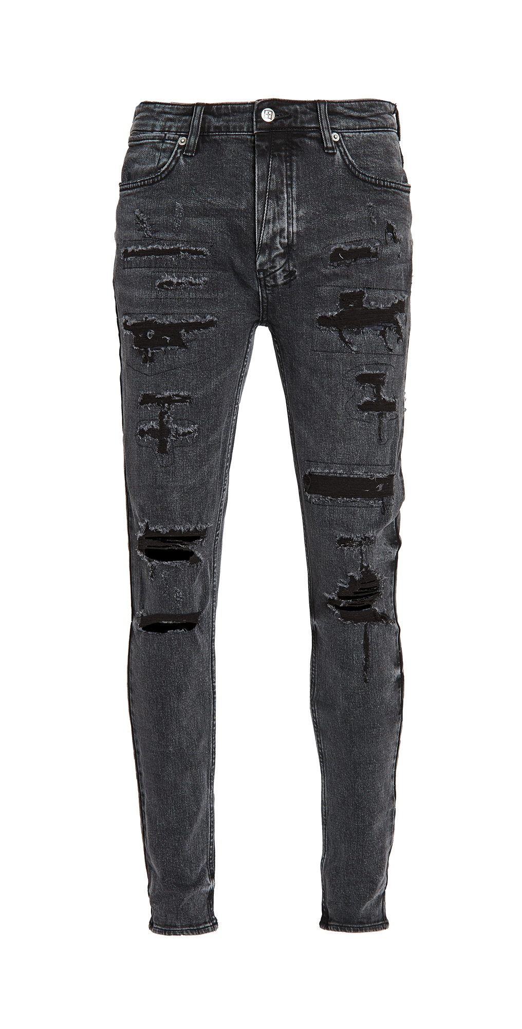 Ksubi Van Winkle Black Dynamite Trash Jeans