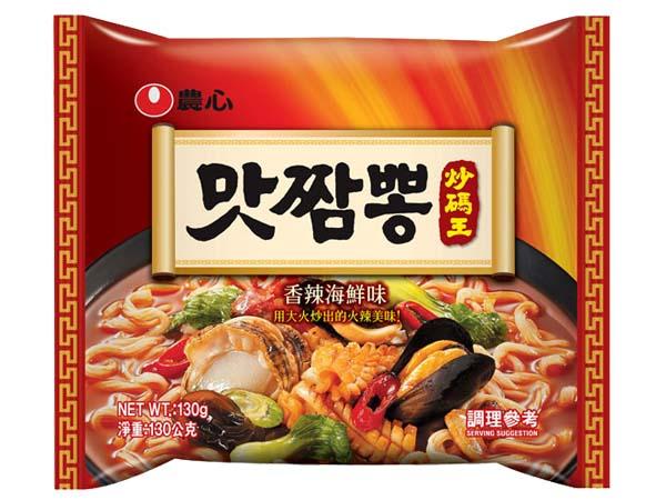 韓國 農心~辣味炒碼麵130g(單包)【D034321】團購/泡麵