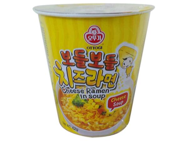 韓國不倒翁~ 起司風味湯杯麵(1杯裝)【D571263】
