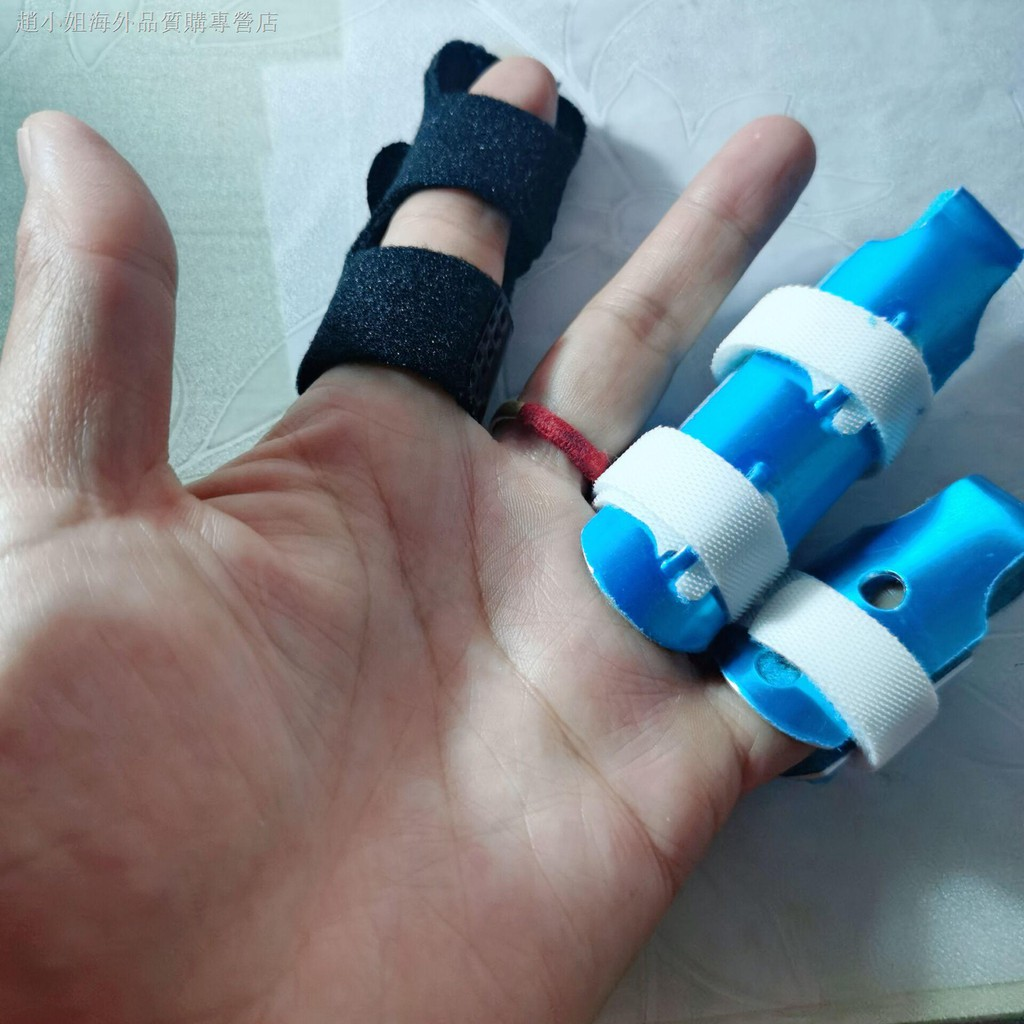 ✶手指矯正器固定護指夾板指套護傷關節彎曲骨折變形康復伸直保護套