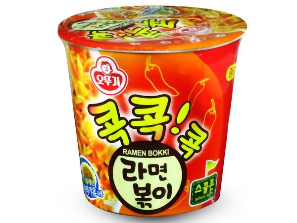 韓國不倒翁~ 辣炒年糕風味乾拌杯麵(1杯裝)【D572680】
