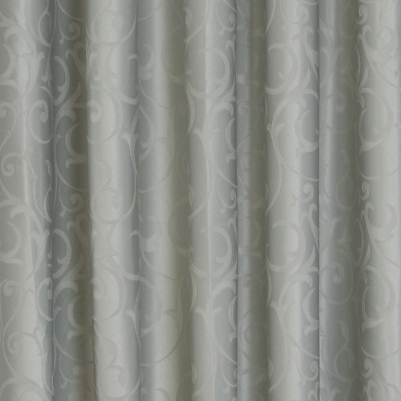 Seville Blockout (Black Out) Pinch Pleat Ready Made Curtains, Mint, 213 Drop