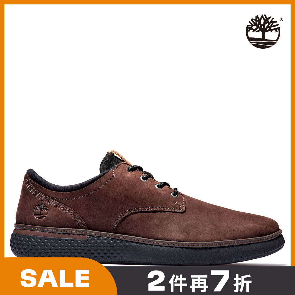 Timberland 男款深棕色磨砂革休閒鞋|A2N27V13