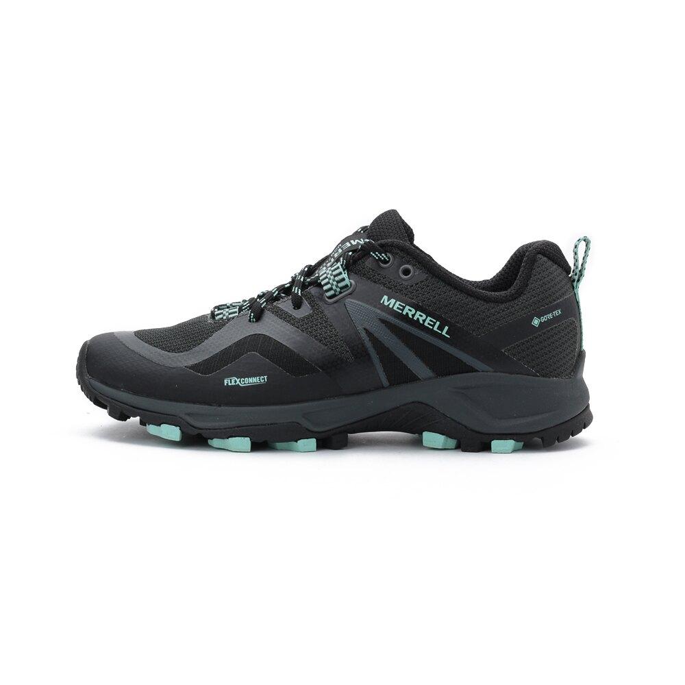 【滿額領券折$150 最高省$450】MERRELL MQM FLEX 2 GORE-TEX JPN 防水越野鞋 黑/淺綠 ML034262 女鞋