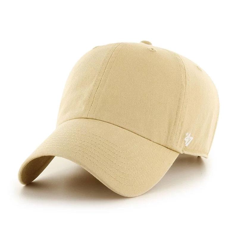 MLB美國職棒 - CLASSIC '47 CLEAN UP 水洗六分割 老帽 / 棒球帽 (淺奶茶)
