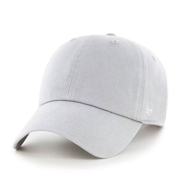 MLB美國職棒 - CLASSIC '47 CLEAN UP 水洗六分割 老帽 / 棒球帽 (清水灰)