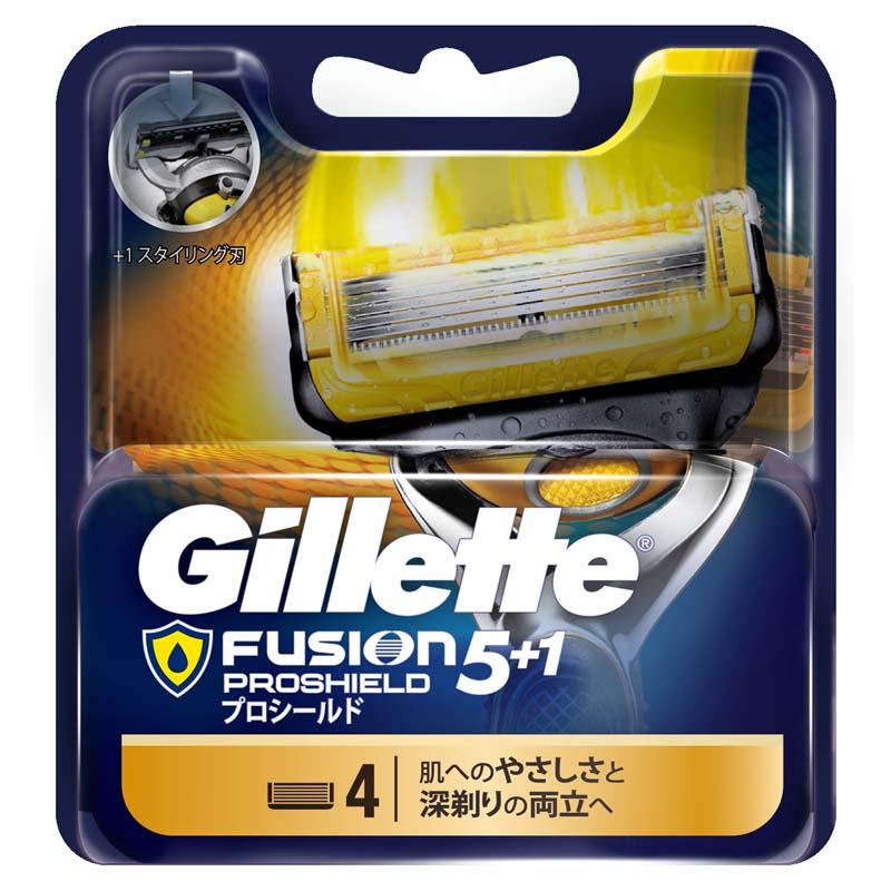 吉列鋒護潤滑刮鬍刀頭-4PC