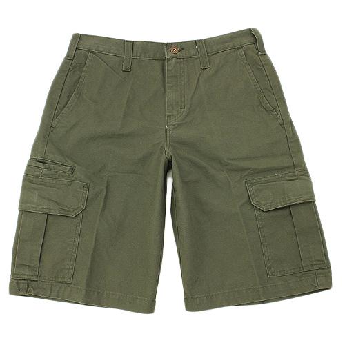 "【DICKIES】DR251  11""中低腰直筒六袋斜紋布 工作短褲 (RMS 軍綠色)"