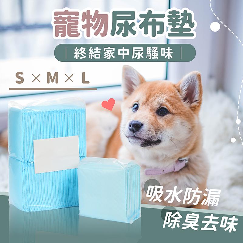 現貨+台灣出貨 強效吸水 寵物尿布墊 加厚款-l號尿布 尿布墊 尿片 狗狗尿片 吸水尿布 狗尿墊