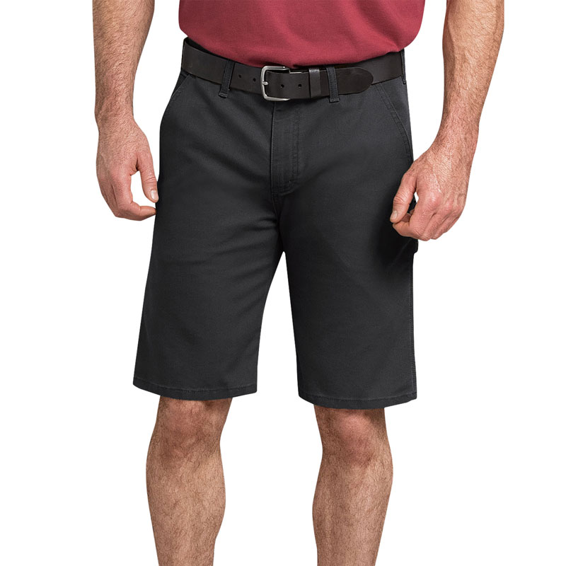"【DICKIES】DX802 11"" Duck Carpenter Shorts FLEX 工作短褲 (BK 黑色)"